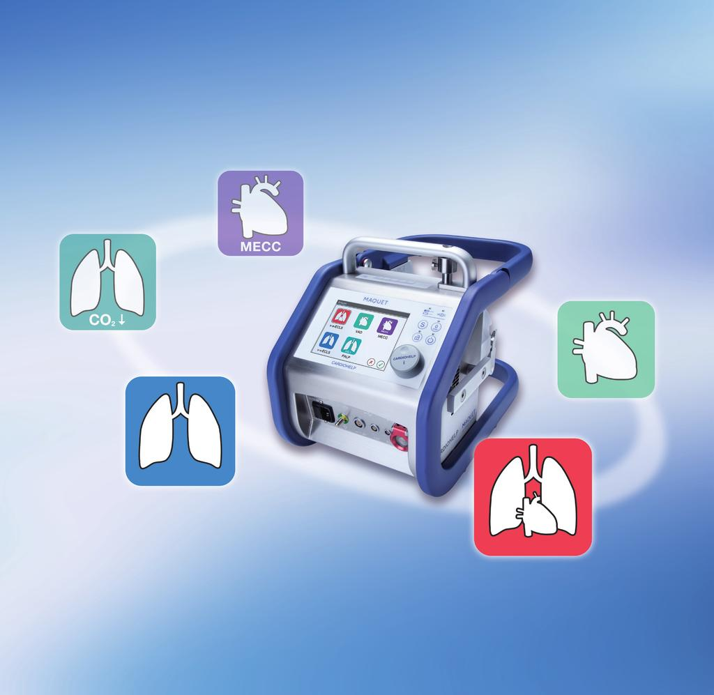 on respiratory and / or circulatory support. MAQUET The Gold Standard. MAQUET South East Europe d.o.o.